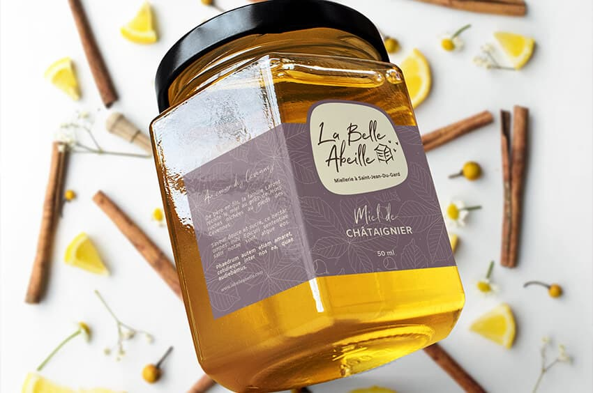 etiquettes apiculteur