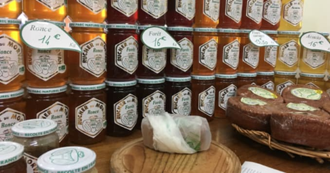 des miels bio avec leur prix