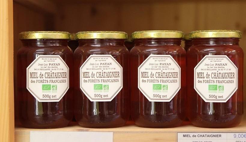 quatre miels bio français